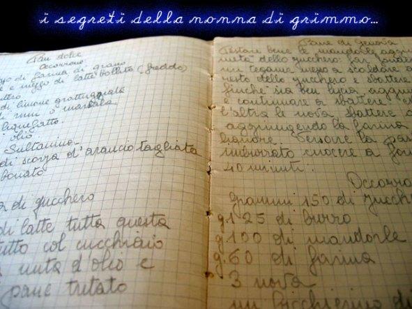 Quaderno di ricette