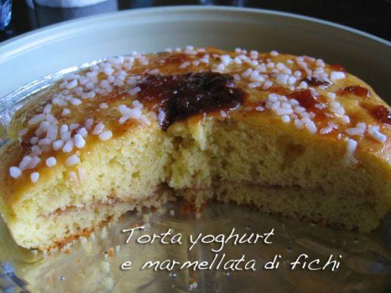 Torta marmellata di fichi