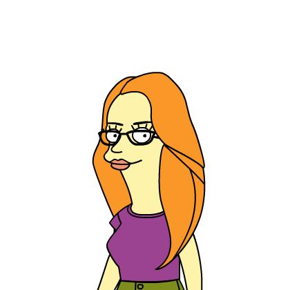Questa sono io in versione Simpson!