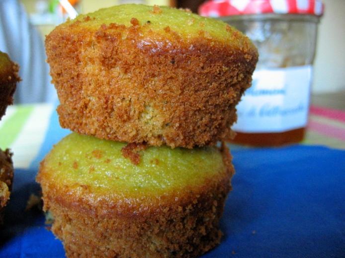 Matcha muffin autunnali