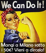 Mangiare a Milano con meno di 50 euro
